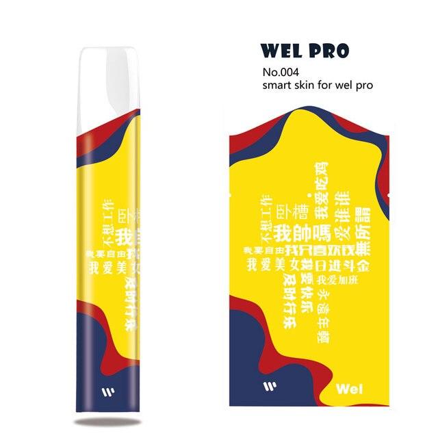 Sihirli köpekbalığı çalışma sabit çince kelimeler istiyorum U Ultra İnce  PVC Vape Sticker kılıfı Wrap cilt filmi Wel pro - hl.markochkupa.se