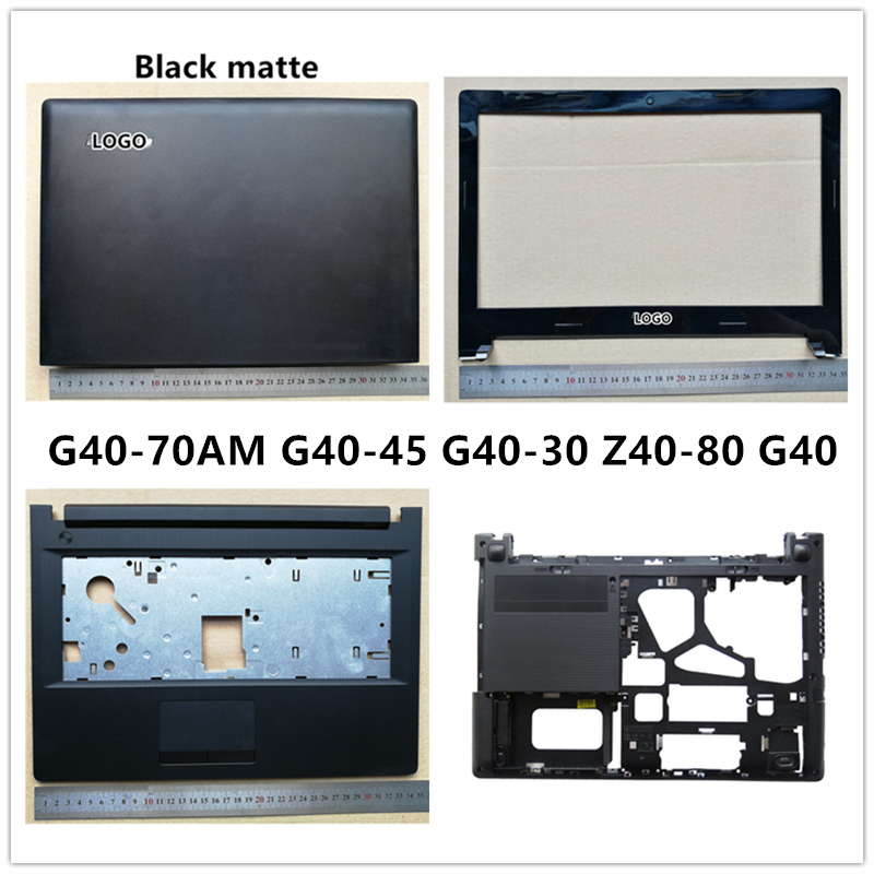 New laptop For <font><b>Lenovo</b></font> G40-70AM G40-45 G40-30 <font><b>Z40</b></font>-80 G40 LCD Back Cover Top <font><b>Case</b></font>/Front Bezel/Palmrest/Bottom Base Cover <font><b>Case</b></font> image