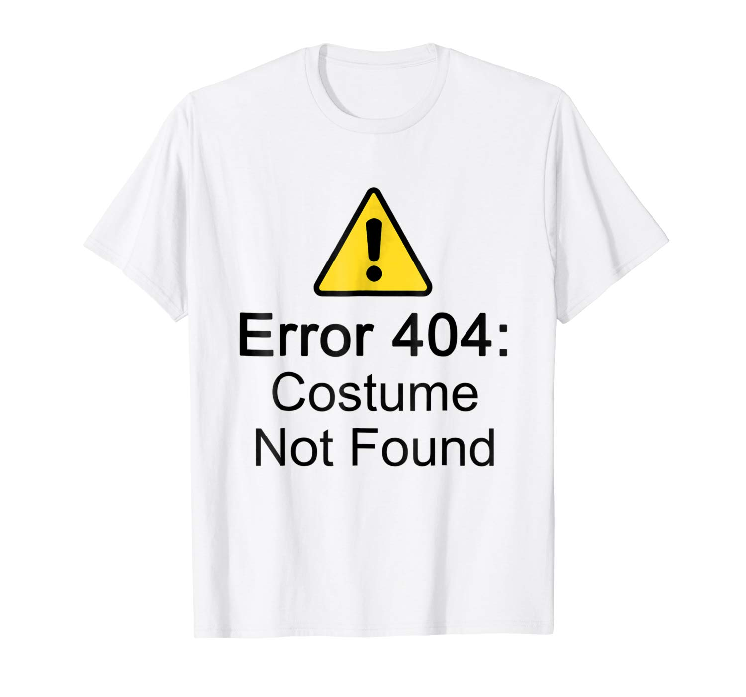 2020 Fashion Mens Short sleeve T <font><b>Shirt</b></font> 100% Cotton <font><b>Error</b></font> <font><b>404</b></font> Costume Not Found Halloween Geek T <font><b>Shirt</b></font> image