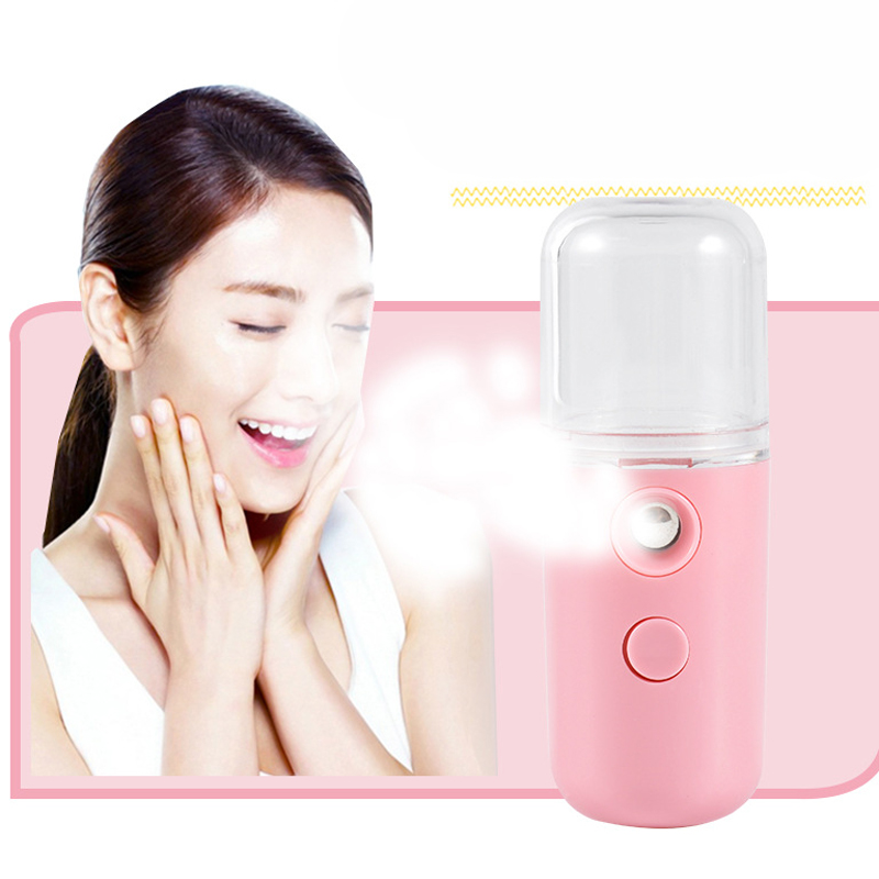 Electronic Beauty Instrument Nano Ionic Cleaning Facial Cleaner Facial Face Sprayer Face Steaming Device Facial Steamer Machine