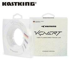 KastKing Kovert 100% batan florokarbon olta 46m 183m 4-50LB 0.16-0.7mm güçlü lideri hattı tatlı su için tuzlu su