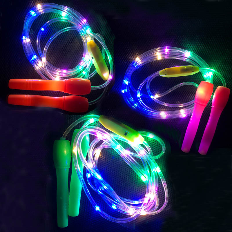 Children's Sports Health Fitness Glowing Skipping Rope Kids Games  Outdoor Games  Toys For Children