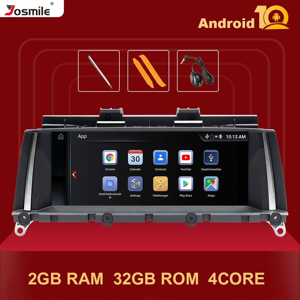 IPS DSP 4Core Android 10 Car Multimedia For <font><b>BMW</b></font> X3 F25 for <font><b>BMW</b></font> X4 F26 Audio Stereo GPS Navigation Head unit Screen F25 2GB Radio image