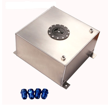 цена на Custom tuning parts 10 Gallon aluminum fuel cell/Fuel surge tank with sensor