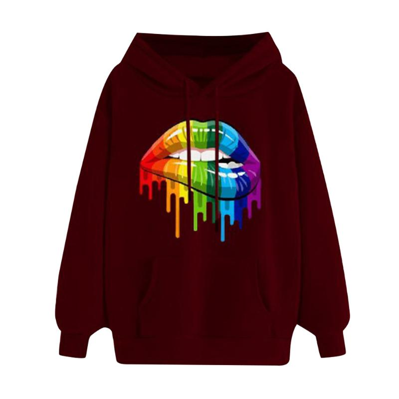 Korean Simple Hooded Trendy Casual Popular Polyester Long Sleeve Hip Hop Coat Daily Leisure Personality Harajuku Top