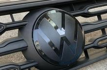 Vorne Grill Badge Logo Emblem Spiegel logo für Tharu 2019-2020 cheap CN (Herkunft) 1inch Volkswagen Embleme