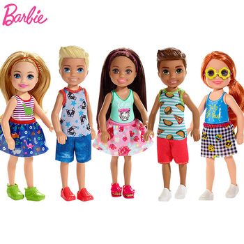 Original Chelsea Barbie Doll Princess Doll Toy Baby Toys for Girls Barbie Clothes for Doll Barbie Accessories Girls Dress nk one set original princess doll dress noble party gown for barbie doll fashion design outfit best gift for girl doll