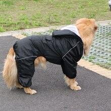 Clothing Corgi Samoyed Dog-Raincoat Labrador Reflective Golden Retriever Waterproof Large