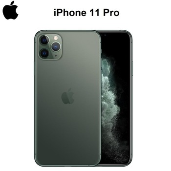 "Original New iPhone 11 Pro/Pro Max Triple Rear Camera 5.8/6.5"" AMOLED Display A13 IOS SmartPhone A2160/A2161/A2217/A2220 4G LTE"