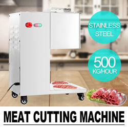 Meat Cutting Machine Meat Cutter Slicer 500KG Output with Sets Blade