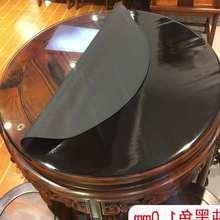 Redondo pvc toalha de mesa à prova doilágua oilproof capaz cobrir vidro pano macio capa de mesa casa cozinha sala de jantar placemat 1mm 20200501