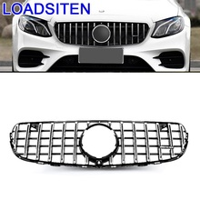 Accessory Exterior Auto Styling Mouldings Decoration Car Accessories Racing Grills FOR Mercedes Benz E Class