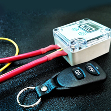العالمي 12 فولت مفتاح بطارية السيارة اللاسلكية التحكم عن بعد قطع قطع المعزل ماستر