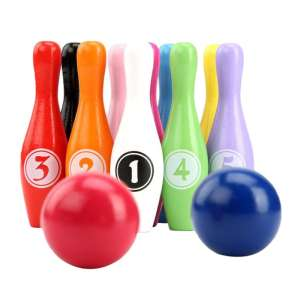 Wooden-Color Bowling...
