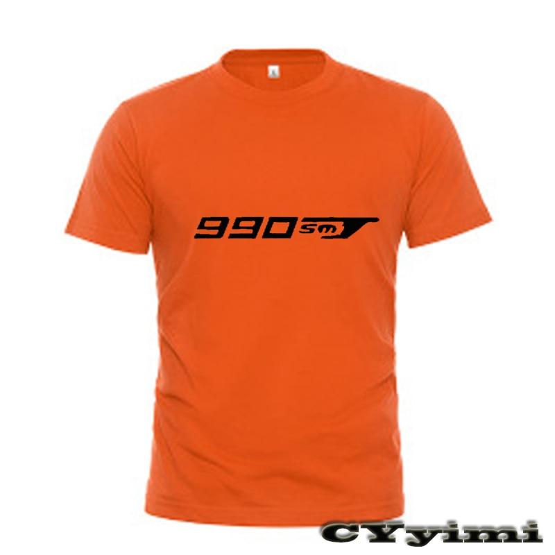Pour KTM 990 SMT 990SMT 09 T-shirt hommes nouveau LOGO T-shirt 100% coton été manches courtes col rond t-shirts homme