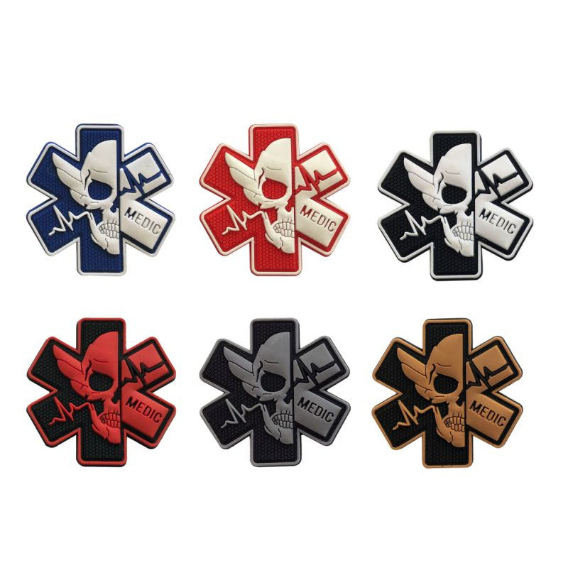 Medical Armband Rescue Badge Magic Stickers Badge Decoration Arts Crafts Sewing Accessories