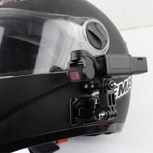 Image 4 - Motorcycle helmet hat mount selfie stick arm holder & 3M glue base for dji osmo pocket / osmo pocket 2 gimbal camera Accessories