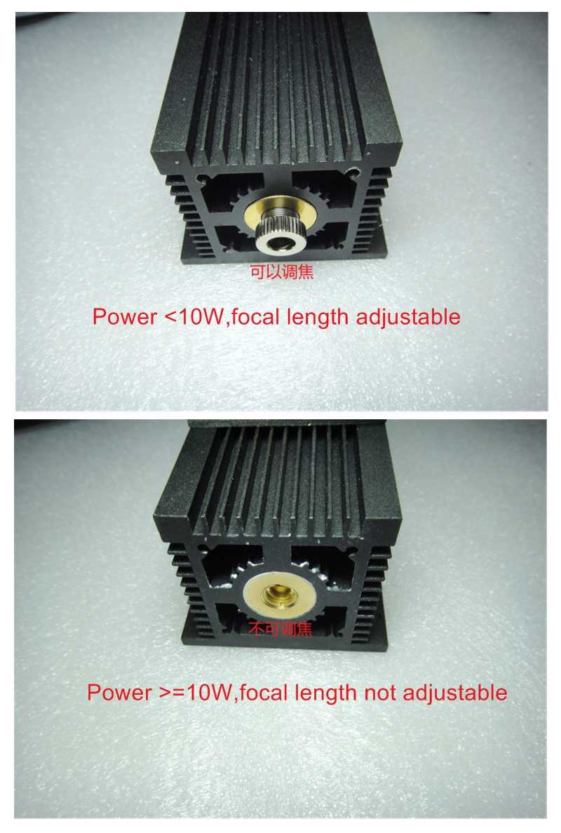 Máy Khắc Dụng Cụ 10 W 15 W Laser Ống 10000MW 15000MW Máy Tính Để Bàn Diode Đầu Laser