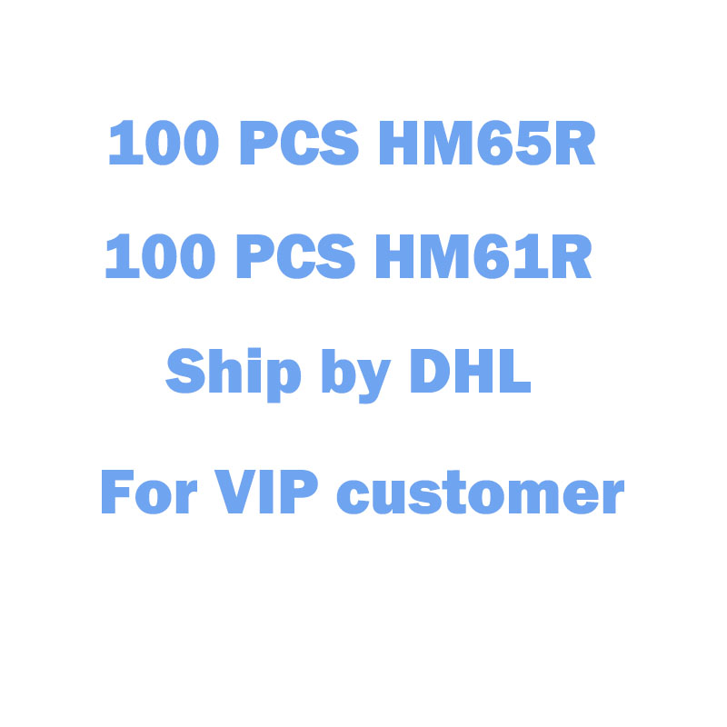 100pcs HM65R and 100pcs HM61R ship ...