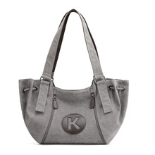 Large Capacity Canvas Women Big Casual Letter Printing Bags Luxury Handbags Designer Top Handle Tote for