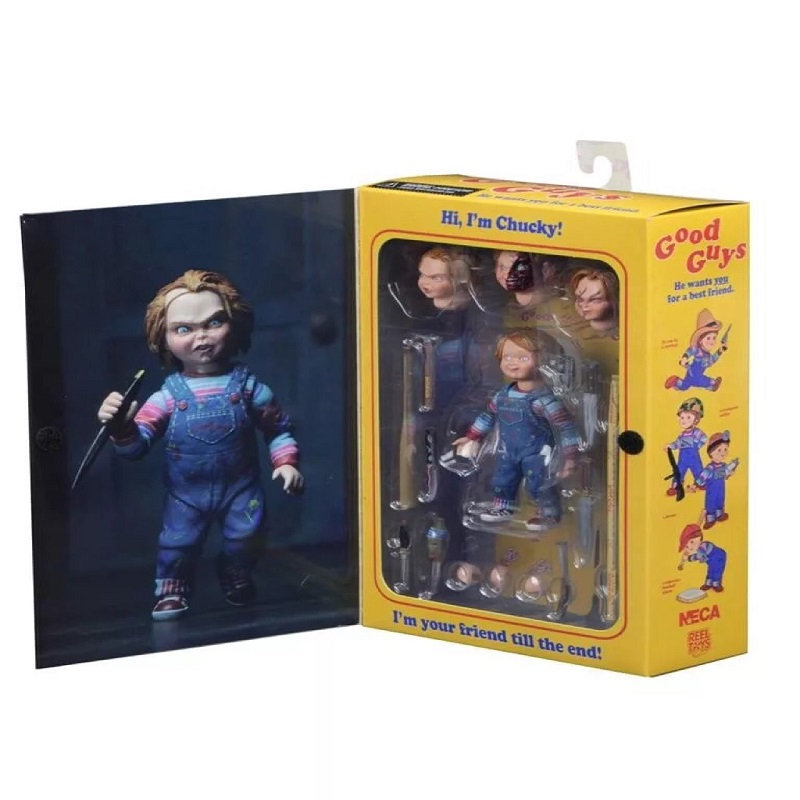 Chucky Action Figurs Child's Play Doll With Retail Box 15cm