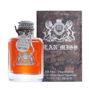 JEAN MISS 100ML Perfume For Men Long Lasting Eau de Toilette Temptation Pheromones Parfum Male Spray Bottle Cologne Fragrance