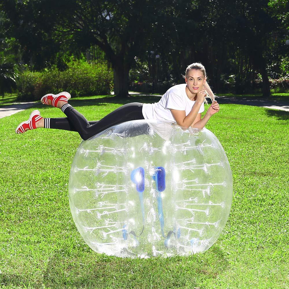 Durable 1,3 m 4 Uds precio de fábrica humano 1,3 m pelota de parachoques inflable, fútbol de burbujas, fútbol de burbujas para la venta