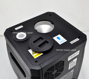 Image 5 - Gigertop 2 ユニット Sparkular 2 5M DMX 512 噴水ステージコールド放電加工機花火 Lcd ディスプレイ電源で /出力ソケット