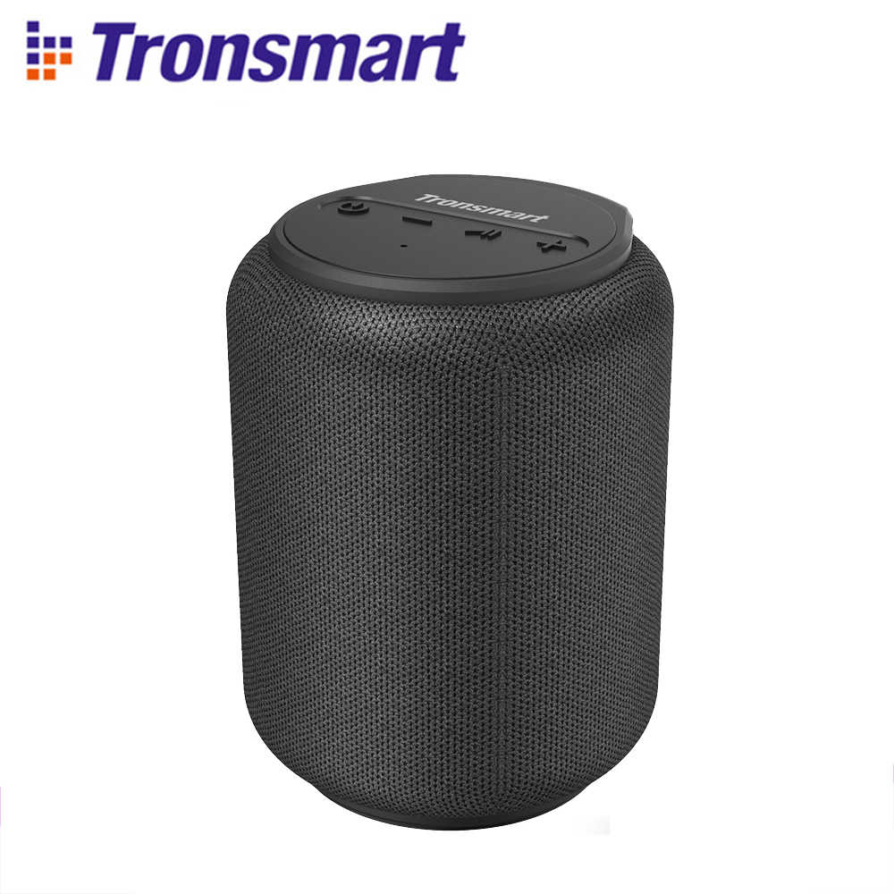 Tronsmart T6 Mini Bluetooth 5.0 Speaker Tws Wireless Speaker 15W IPX6 Tahan Air 24 Jam Waktu Bermain 360 Surround Sound suara Assistan