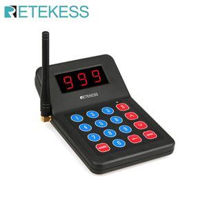 Image 1 - 1 шт. передатчик клавиатуры для ресторана Retekess T119, пейджер, беспроводная система вызова для ресторана, кофейни, церкви, клиники