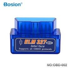Bosion Elm327 V2.1 Bluetooth OBD2 Scanner Diagnostic Car Elm327 2.1 OBD 2 Elm 327 Car Diagnostic Tool Auto Scan Adapter