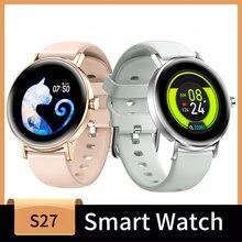 Smart Watch Fitness Tracker orologi da donna, Fitness Watch cardiofrequenzimetro IP67 orologio digitale impermeabile con calorie a gradino