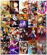 20 шт/упак 42x285cm аниме плакат японский кошмарным крафт бумаги