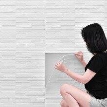 Wallpaper 3d Brick Waterproof Bedroom Decoration