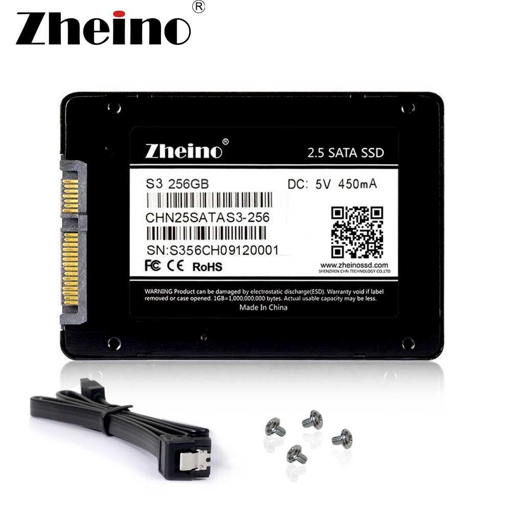 """Zheino SSD 120 GB 240 GB 128 GB 256GB 512 GB SATA3 SSD 2,5 """"SATA3 TLC interno de estado sólido disco Duro SSD para computadora portátil de escritorio"""