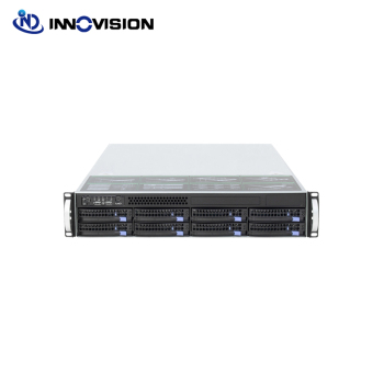 "2U 560MM 8bays hot plug 6GB mini sas backplane server chassis with 550W 80plus Delta power supply and 2.5"" HDD mould 1"