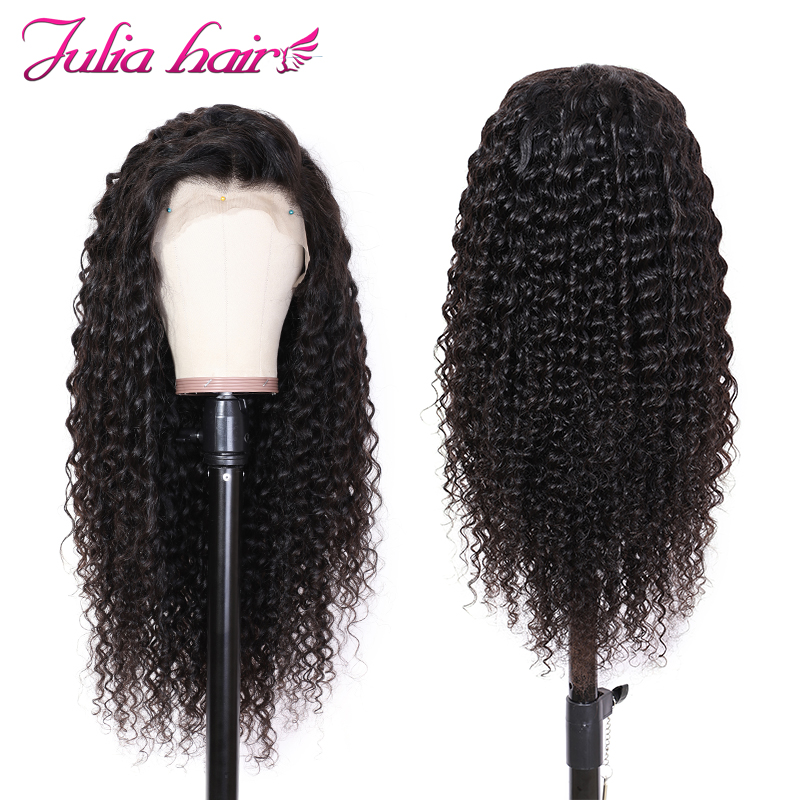 Ali Julia Hair 13×4 13×6 Lace Front Human Hair Wigs Brazilian Deep Wave Remy Hair Wig 130%150% Density For Choice