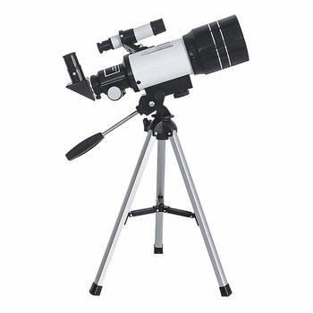 Szerokokątny teleskop astronomiczny 60mm teleskop astronomiczny odkryty monokularowy Zoom teleskopowy teleskop ze statywem tanie i dobre opinie CN (pochodzenie) Z tworzywa sztucznego Beginner Monocular Lunar Observation Telescope Wide-Angle Astronomical Telescope
