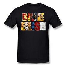 Singer-Camiseta de algodón de manga corta, informal, a la moda, fresca y divertida