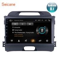 Seicane Android 8.1 9 inch Head Unit For 2010 2011 2012 2013 2014 2015 KIA Sportage Radio Audio Car GPS Multimedia Player 2DIN