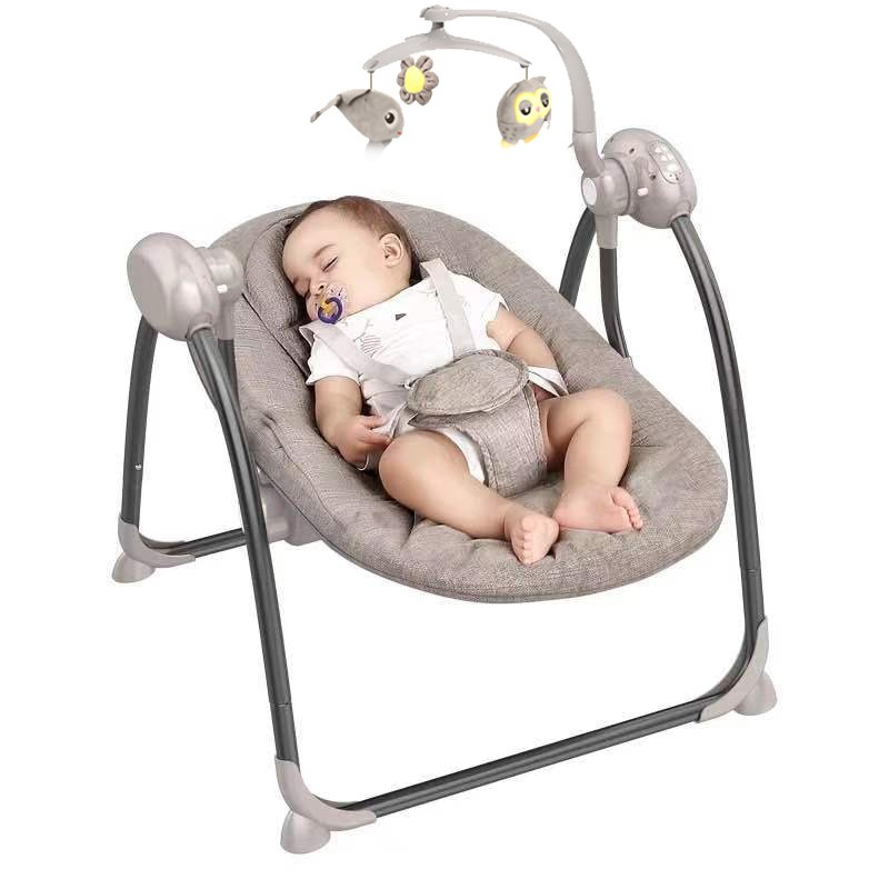 Multi functional Rocking Chair for Newborm Baby 0 36 months Baby Sleeping Swing Bouncer Rocking Soothing Multi-functional Rocking Chair for Newborm Baby 0-36 months Baby Sleeping Swing Bouncer Rocking Soothing Electric Cradle