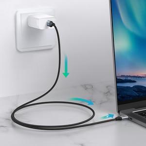 Image 2 - CABLETIME PD 60W USB 3.1 szybkie ładowanie 3A kabel 5 gb/s dla Xiaomi 10 USB C do typu C kabel Macbook Air Samsung S20 N420