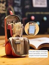 Большая многофункциональная вертикальная сумка для ручек в стиле