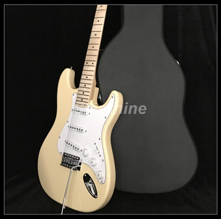 2019 New Electric Guitar Z-ZA1 For Beginner Tremolo Bridge Cream Color Standard Size image