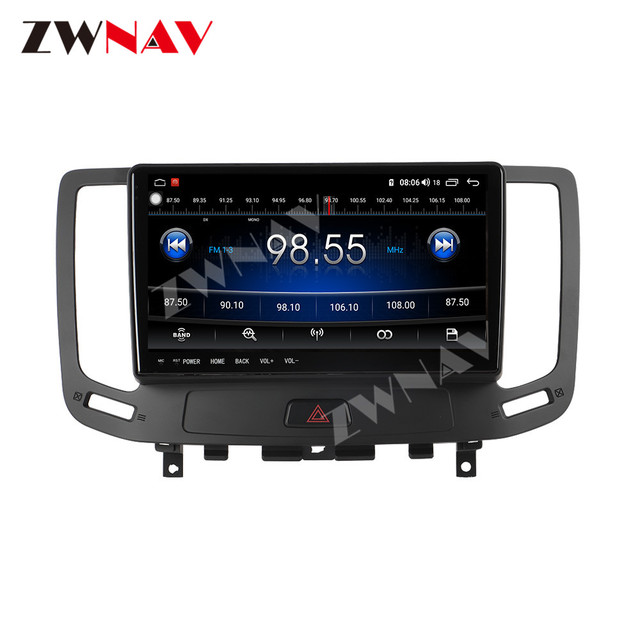 IPS DSP Android 9 IPS Screen Car Multimedia For Infiniti G ser Co One Outback Radio Tape Recorder Head unit Car Multimedia Playe 4