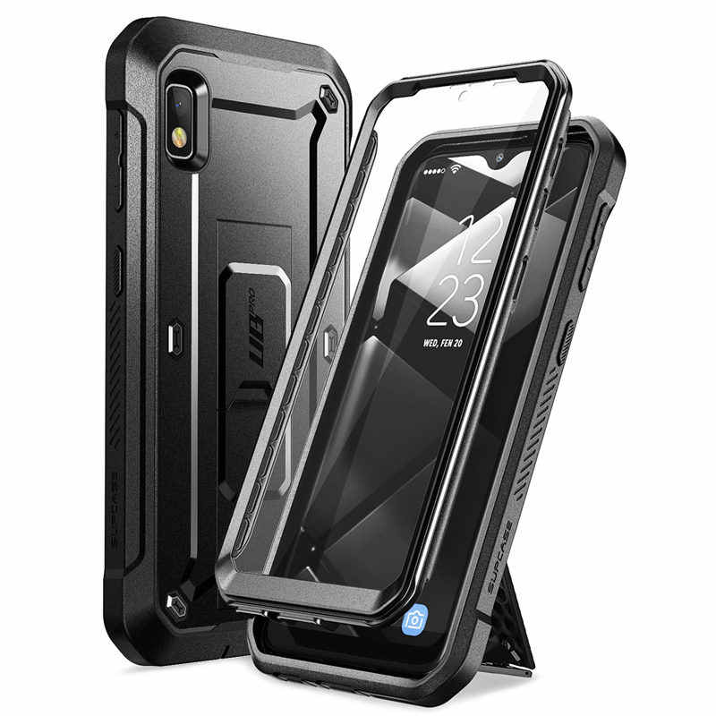 SUPCASE For Samsung Galaxy A10e Case (2019) UB Pro Full-Body Rugged Holster Case with Built-in Screen Protector & Kickstand
