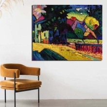 Wassily Kandinsky Wallpaper Canvas Painting Print Living Room Home Decoration Modern Wall Art Oil Painting Posters Pictures Art