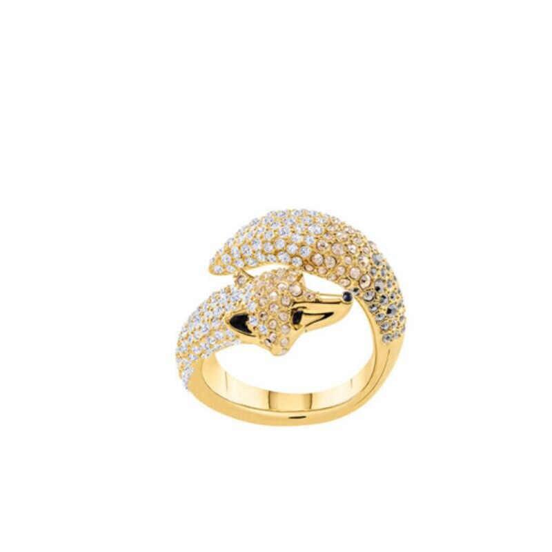 คุณภาพสูง SWA Fox แหวนหญิงแหวนเปิดเครื่องประดับของขวัญ