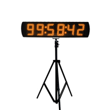 цена на High quality 5 race timer clock LED digital sports race timing clock electronic countdown timer