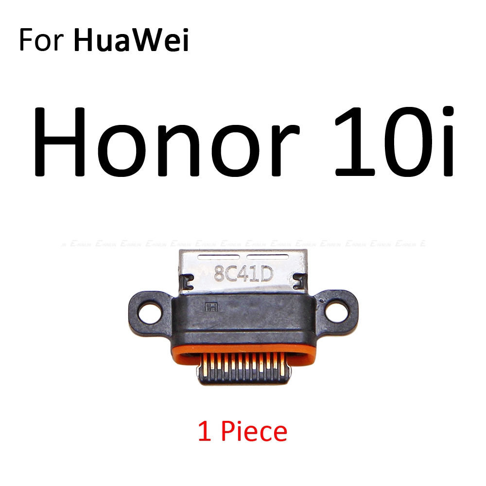 Type-C Micro USB Jack Connector Socket For HuaWei Honor 10i 20i View 20 Note 10 Lite Pro Charge Charging Dock Plug Port